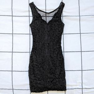 Lacey Black Body con Dress